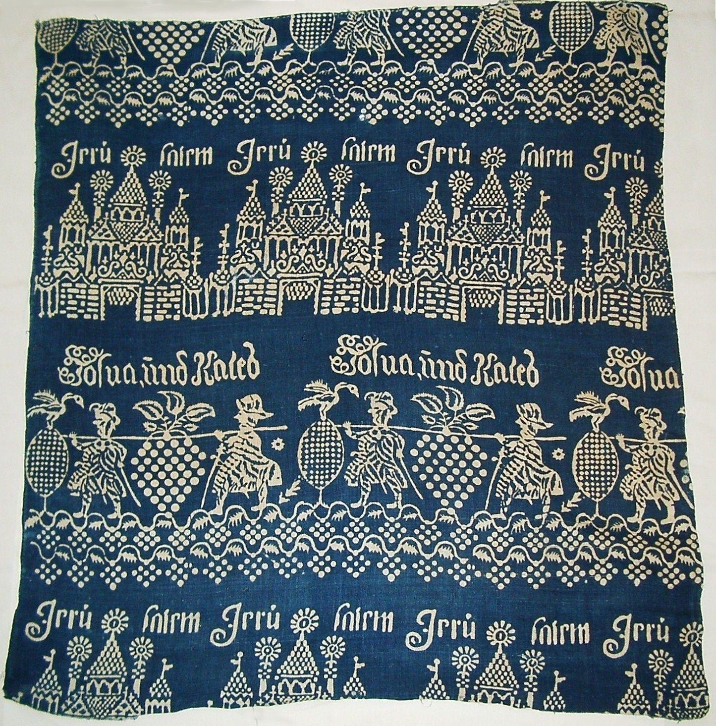 Blaudruck, ca. 1720 - Prignitz Museum, | Ornaments & patterns ...