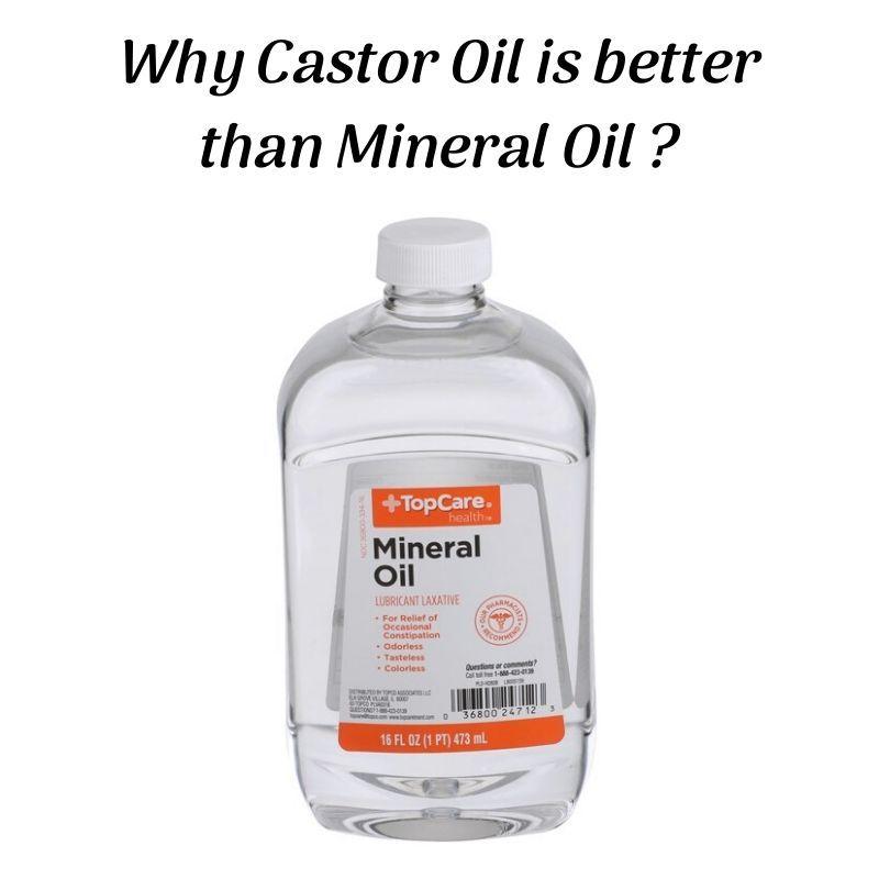 Castor oil vs Mineral oil in 2020 | Castor oil Mineral ...