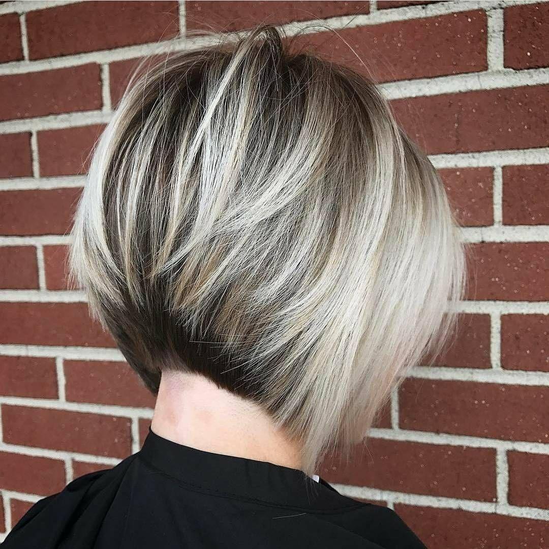 Layered Bob Frisuren Moderne Short Bob Haarschnitt Mit Ebenen Für