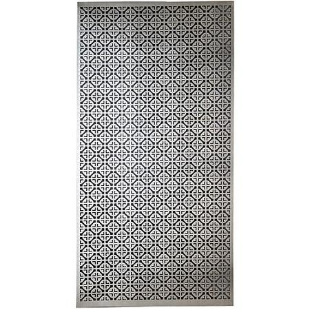 Aluminum Metal Sheet 12 X24 Mosaic Walmart Com Metal Sheet Decorative Metal Sheets Decorative Sheets