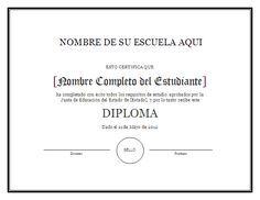 resultado de imagen para formatos de diplomas para editar