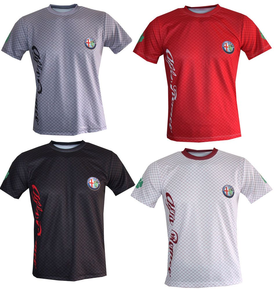 Alfa Romeo T-shirt Giulia Giulia Quadrifoglio STELVIO 147