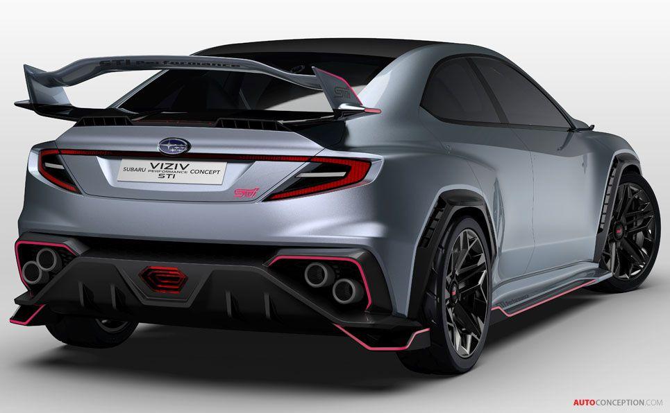 2018 Subaru Viziv Performance Sti Concept