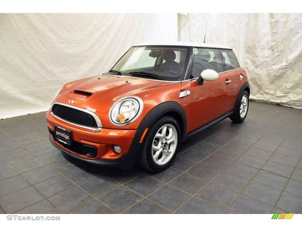 Bright Orange Mini Cooper Mini Cooper Car Colors Mini Cooper S