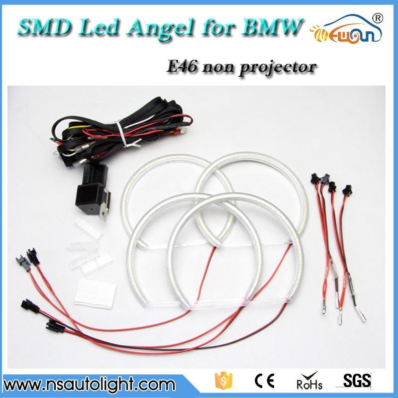 46 80 watch now 3014 smd led angel eyes halo rings kit headlight rh pinterest com Lt1 Wiring Harness Wiring Harness Diagram