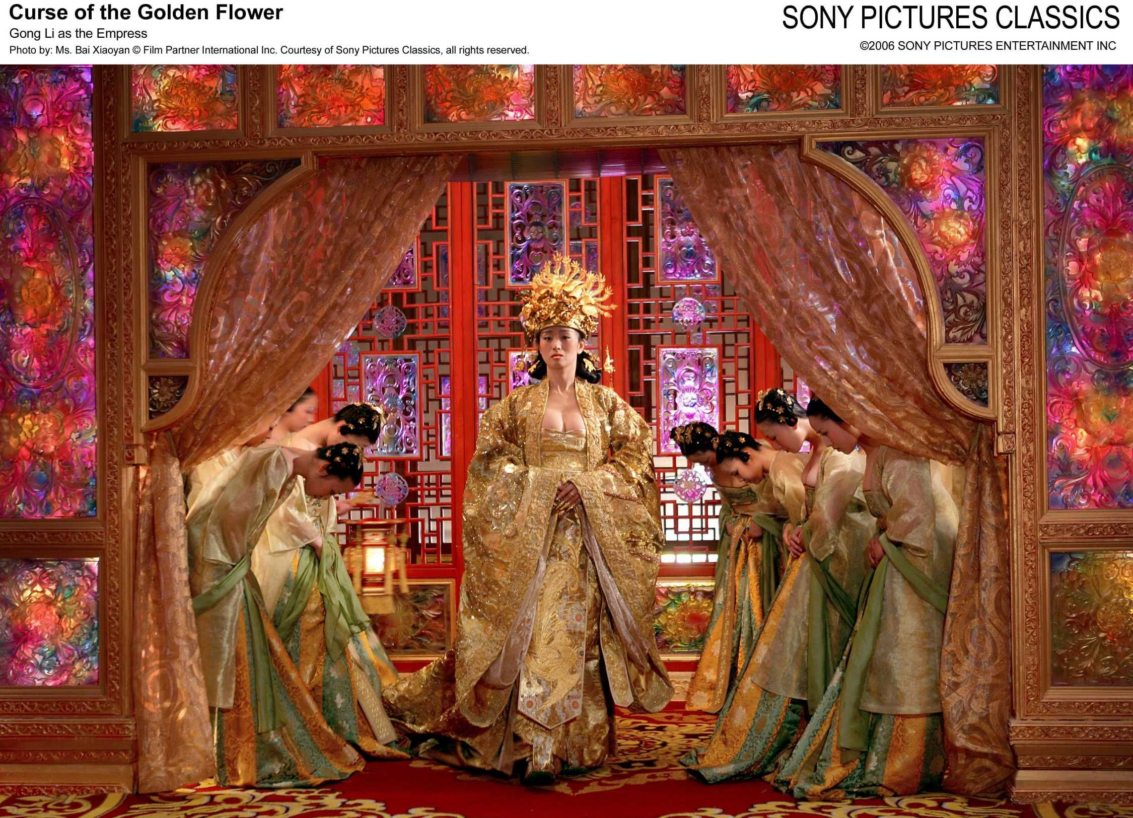 Gong Li as the Empress Curse of the golden flower Movies I Love