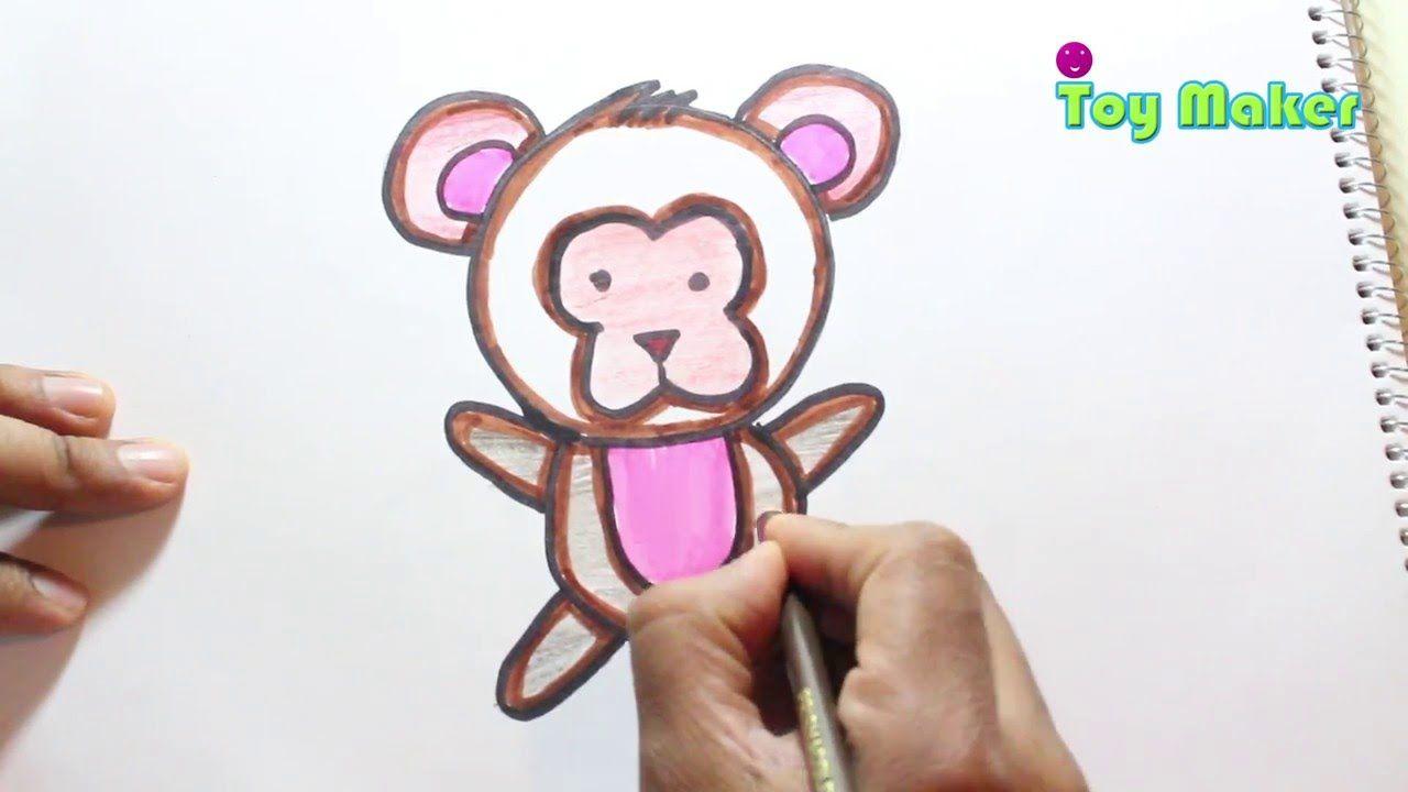 Dibujando Un Osito De Caricatura Ninos Y Ninas Muy Facil Videos De Dibujos Como Dibujar Un Oso Osos De Peluche