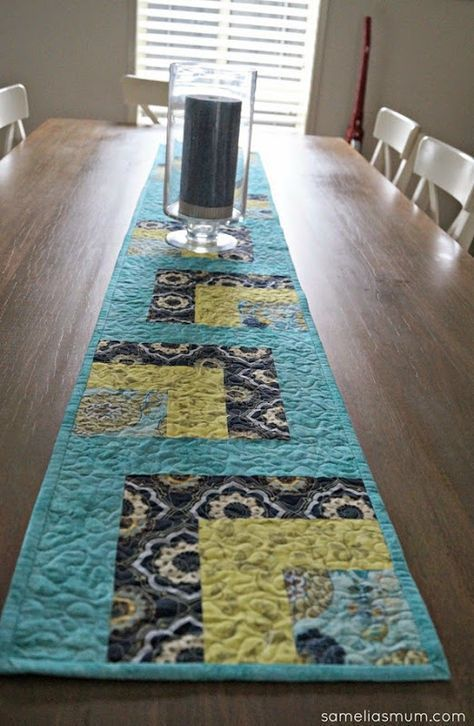 Whip It Up Quick Table Runner Free Pattern At