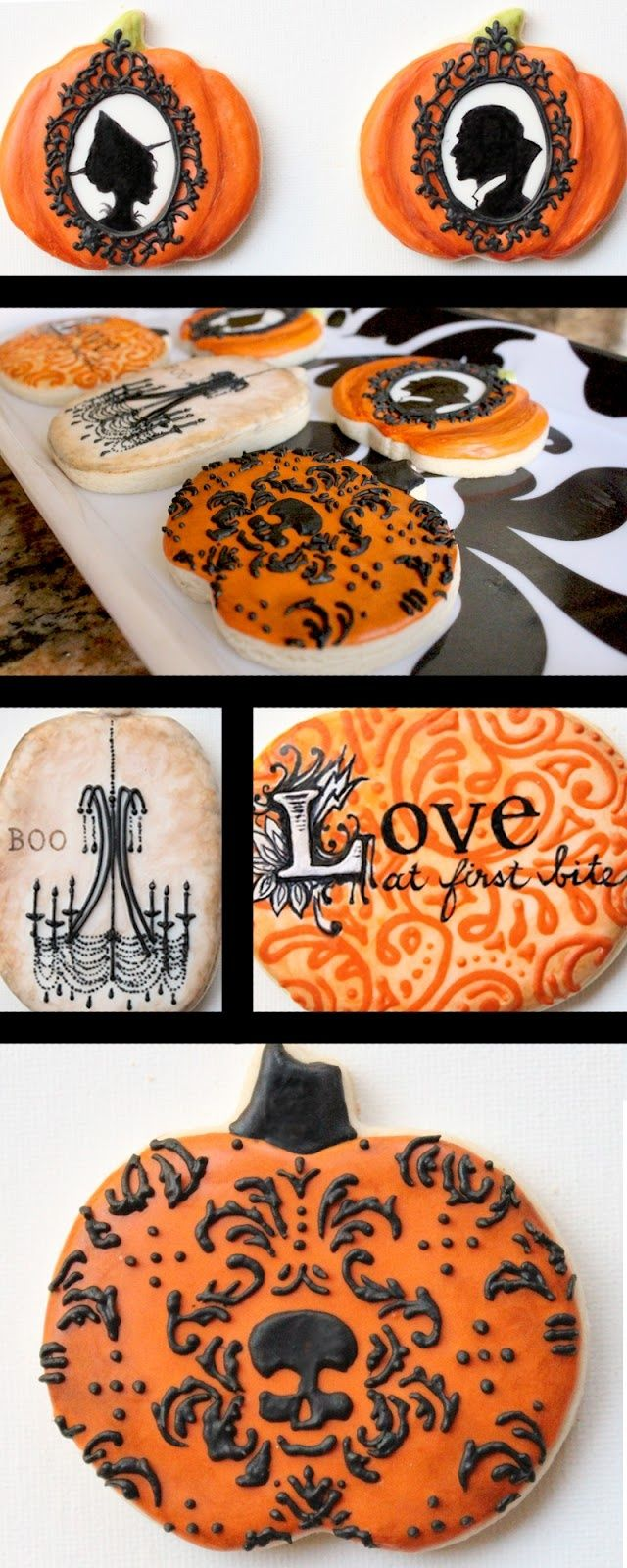 Amazing cookies by this artist!! Arty McGoo Royal Icing Cookies - Halloween Decorated Cookies