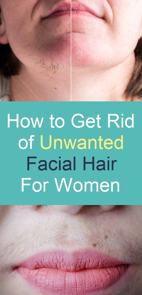 How to Get Rid of Unwanted Facial Hair for Women