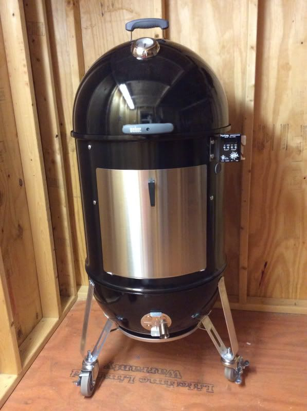 My 22 Wsm Mods Check It Out Weber Smokey Mountain Brisket