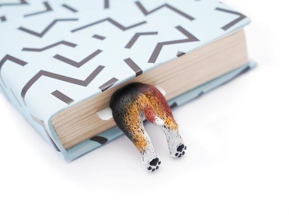 Beagle Animal Unique Bookmark Bookish Librarian Gift Special