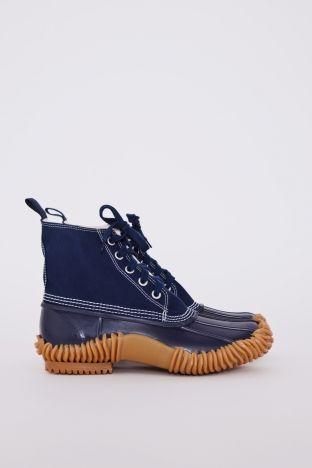 Junya Watanabe Man  Duck Boots Navy