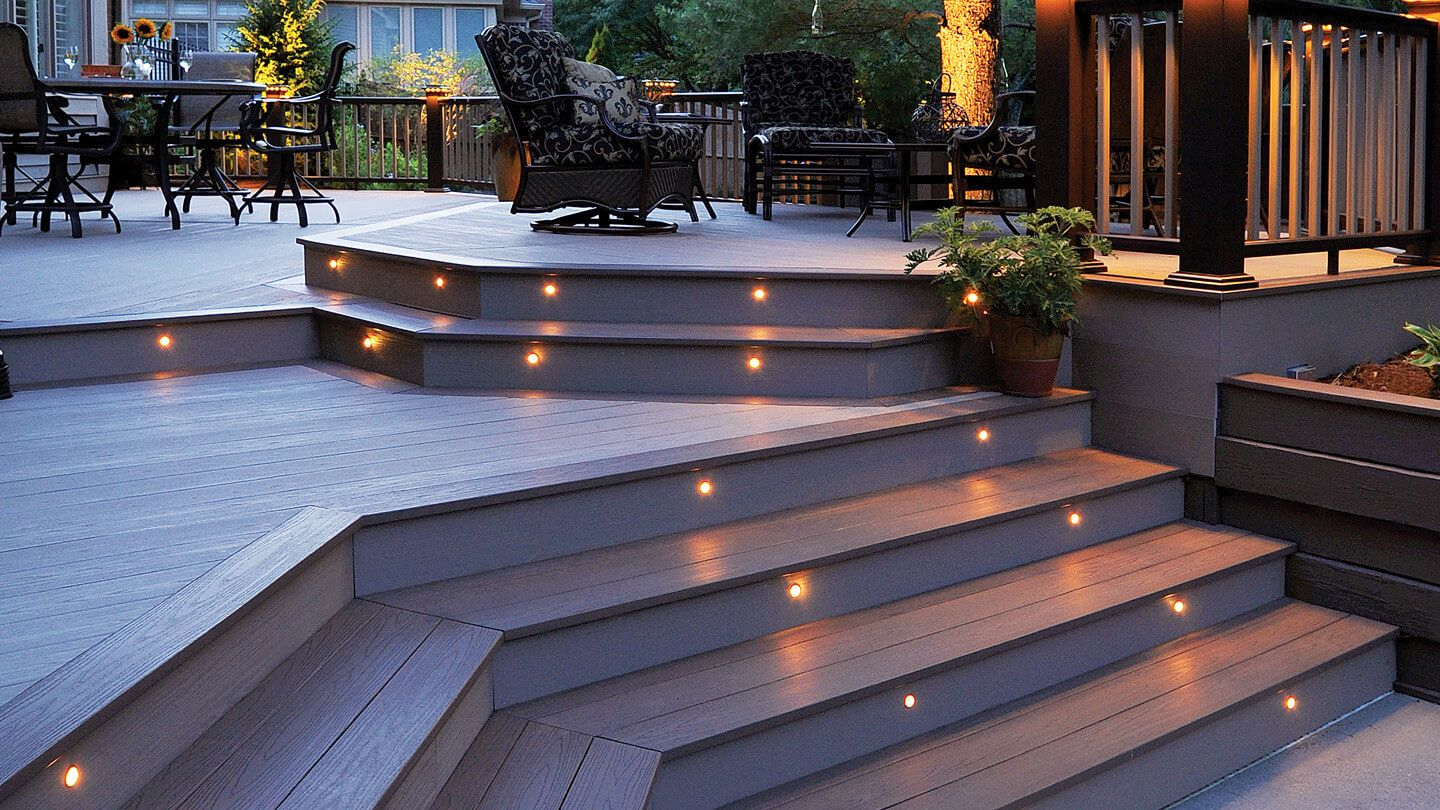 Azek Lighting Products Add A Warm Glow To Your Deck With S Outdoor And Porch Select From Our Ortment Of Items For