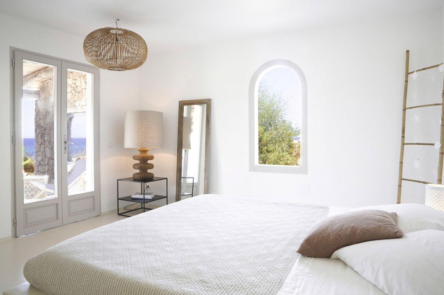 Etosoto Formentera front beach house interior living room design ...