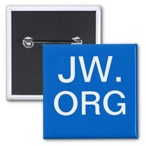 Jw.org button! Great gift for International Delegates!