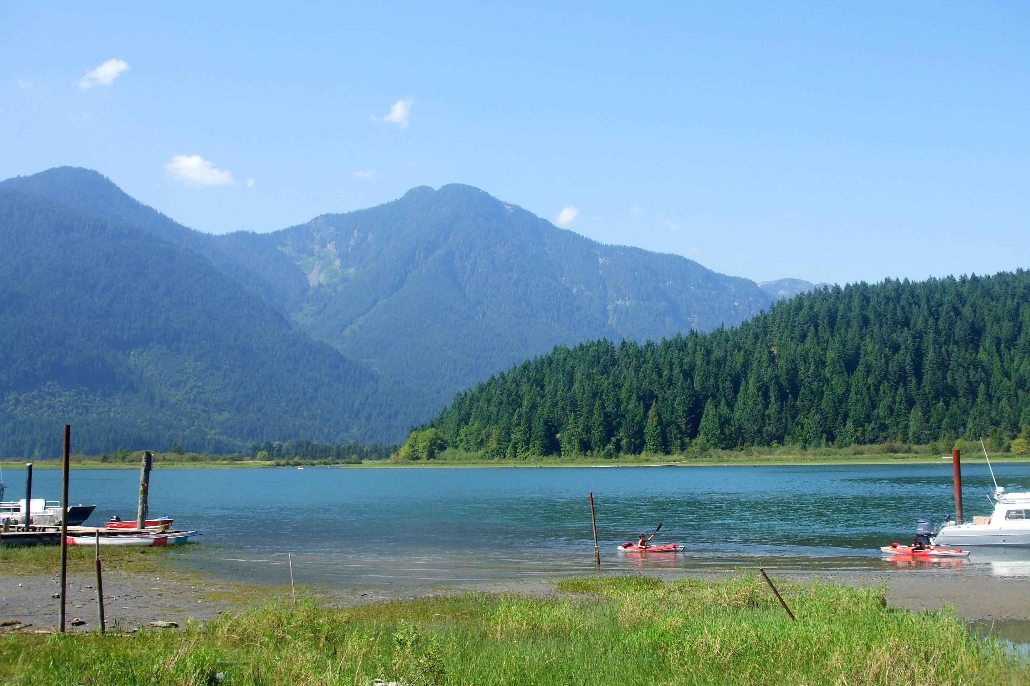 Pitt Lake, BC. British columbia, Natural landmarks, Canada