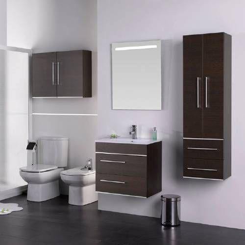 muebles-para-baños-muy-pequeños2 baños Pinterest Muebles para