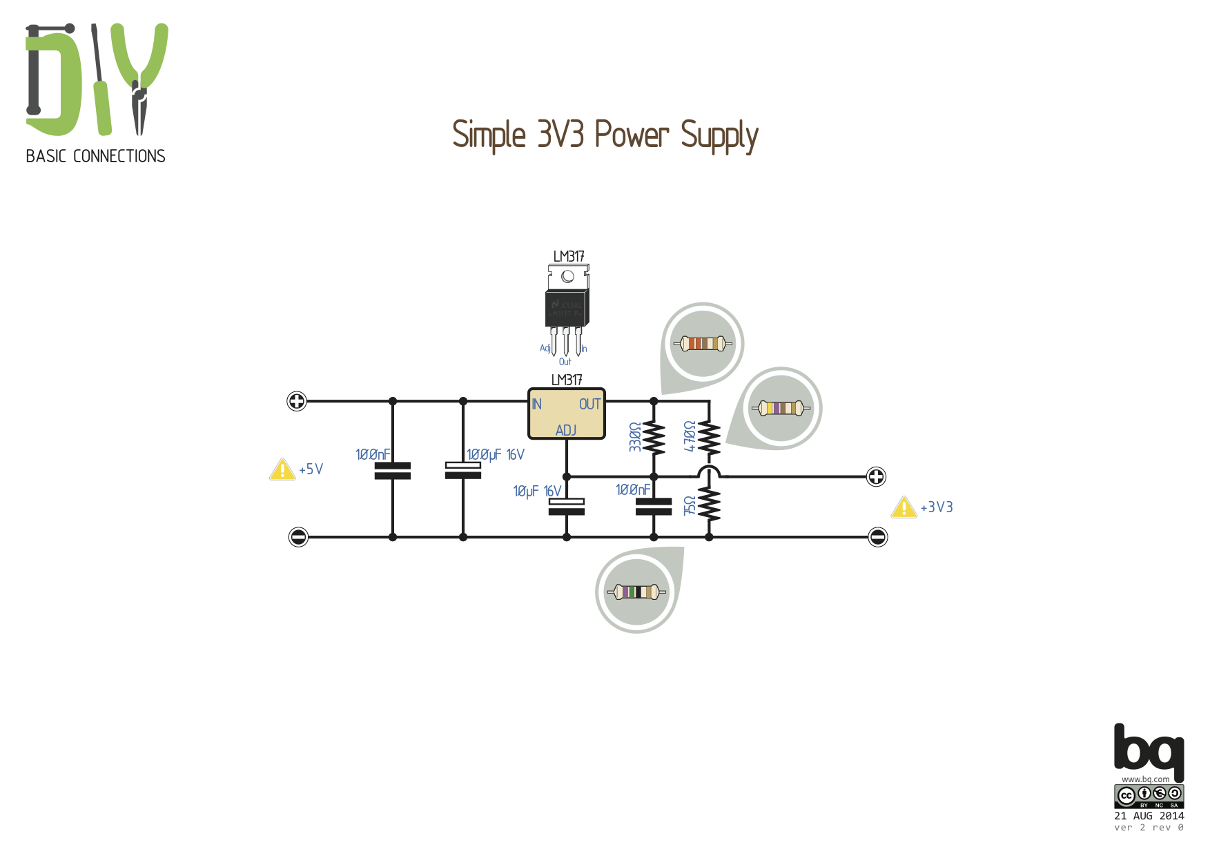 Pighisimple 3v3 Power Supply