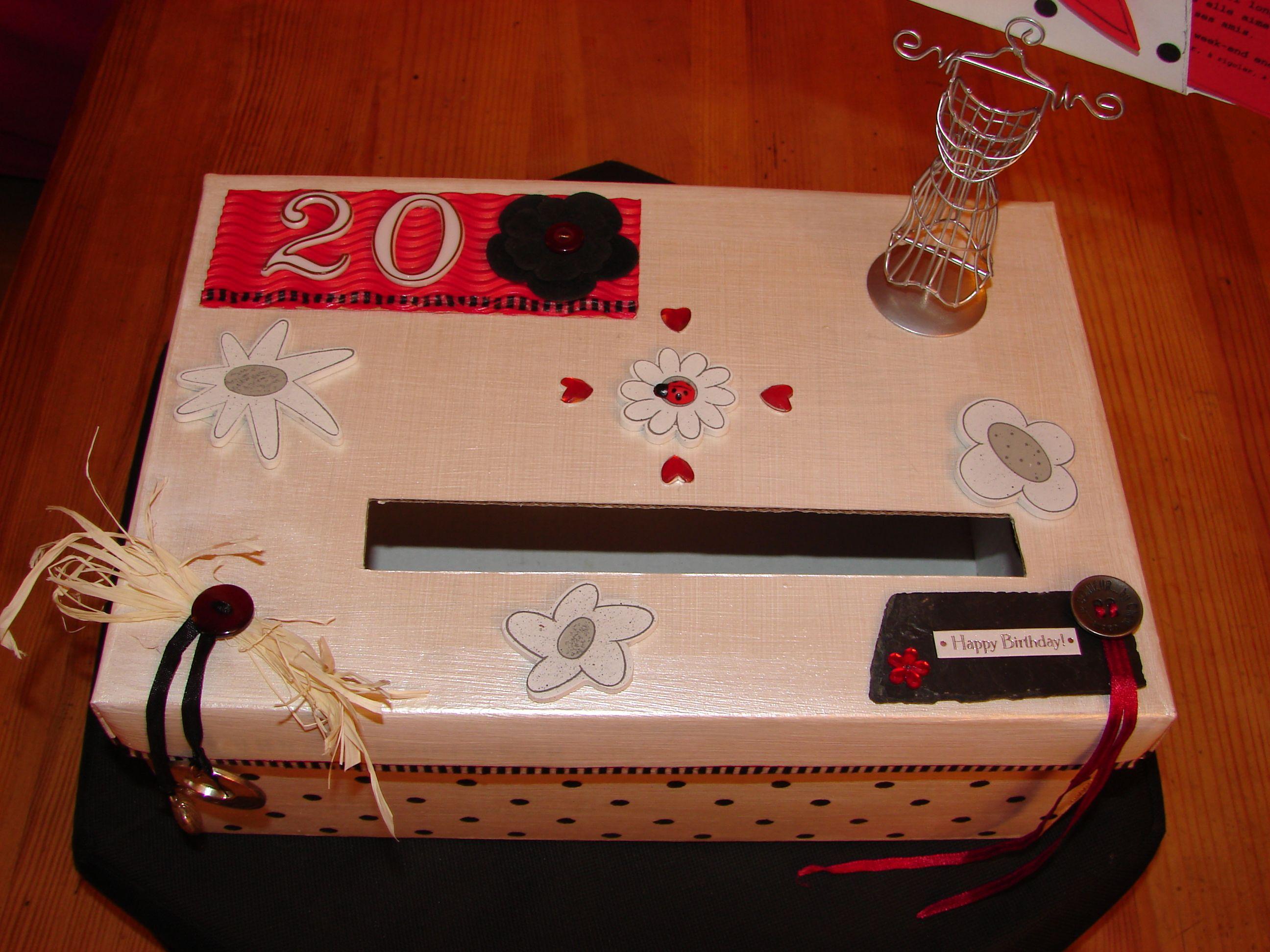 urne anniversaire 20 ans f mes petites r cr ations pinterest urne anniversaire urne et. Black Bedroom Furniture Sets. Home Design Ideas