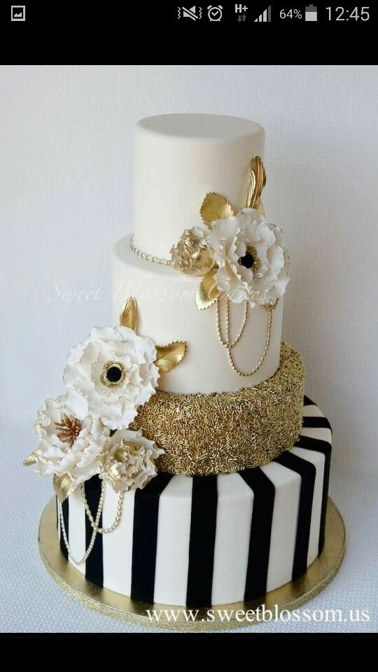 Schwarz Weiss Gold My 29th Bday Celebration Pinterest
