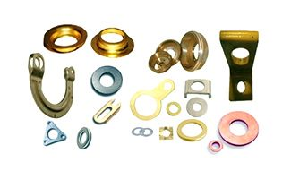 Custom Copper And Brass Pressed Parts Components Copper And Brass Copper Sheets Copper