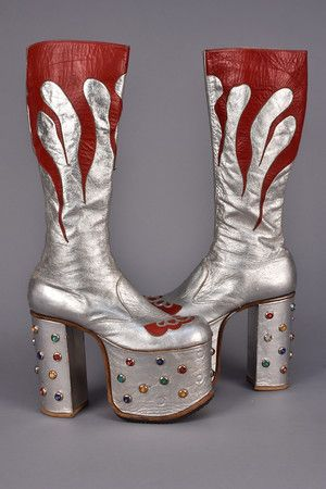Rock boots, Glam rock, Rock shoes