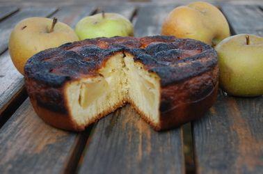 Gâteau aux pommes 5, 4, 3, 2, 1 (Facile!)
