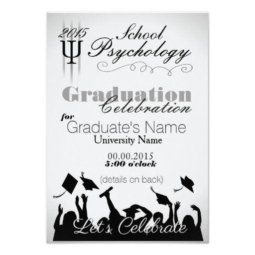 School psychology graduate party invitation school psychology school psychology graduate party invitation filmwisefo