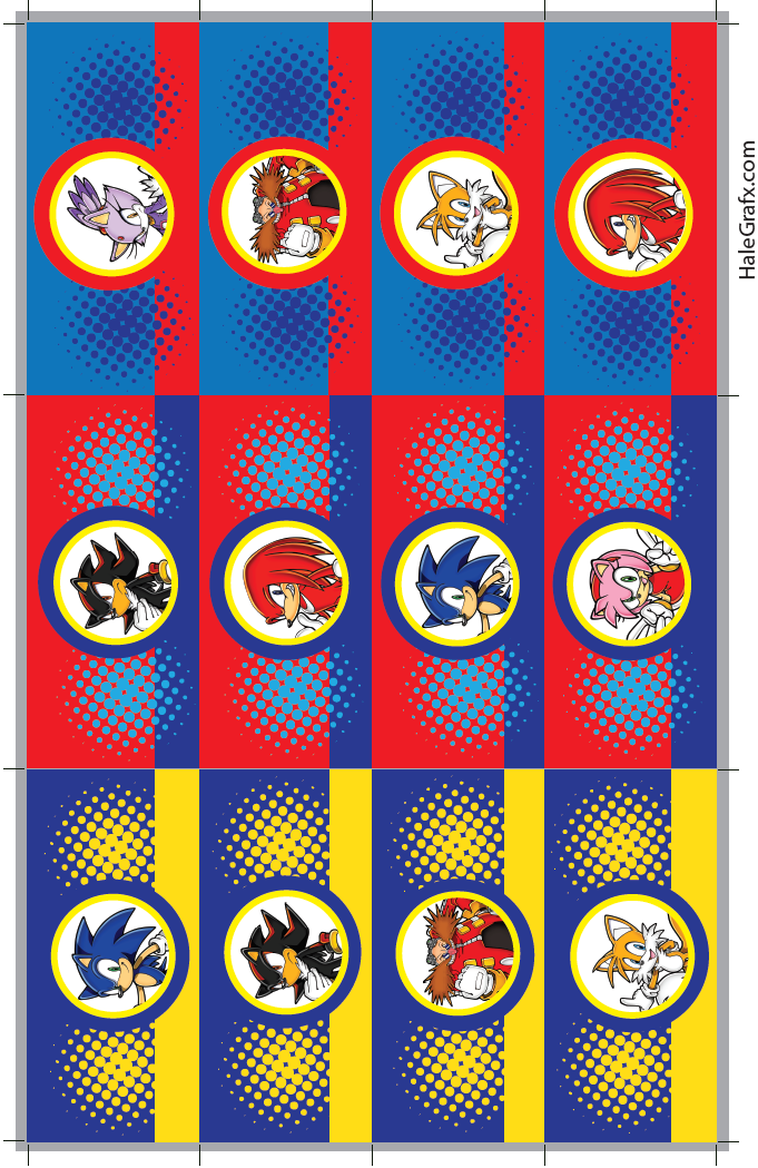 Pin By Crafty Annabelle On Sonic The Hedgehog Printables In 2019