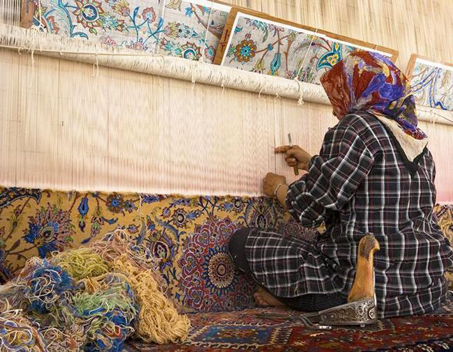 Rug Making With Images Persian