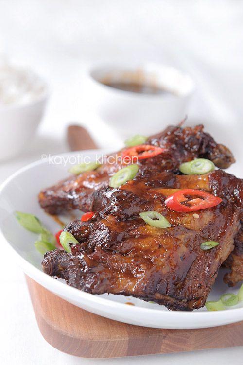 Finger-licking good Peppery Asian Ribs