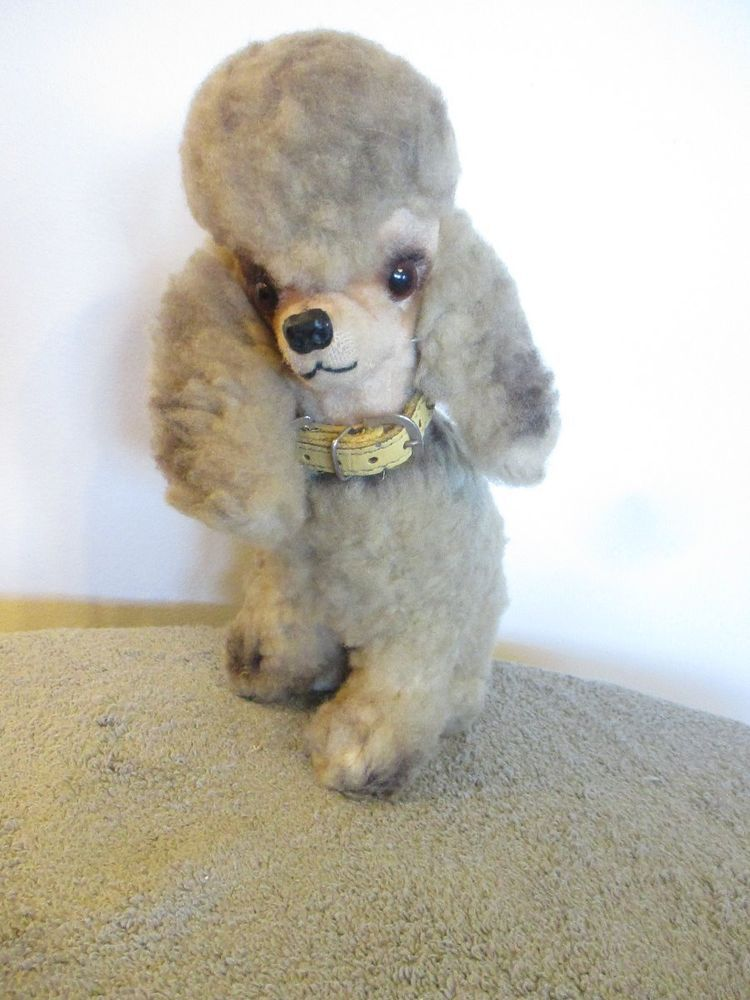 Very Cool Mid Century Pascal Kamar 9 1 2 Plush French Poodle