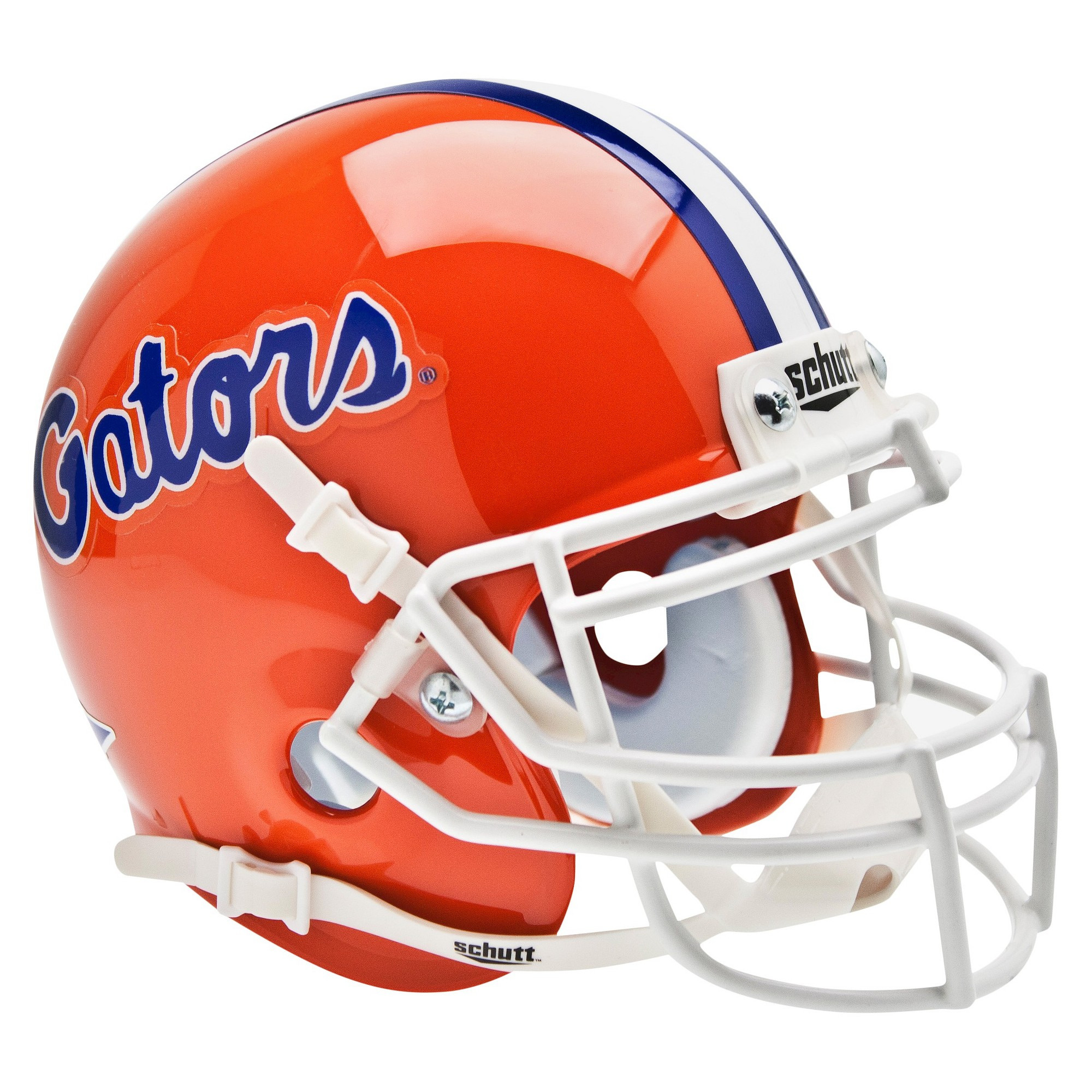 College Mini Helmets Florida Gators Schutt Throwback Mini Football Helmet