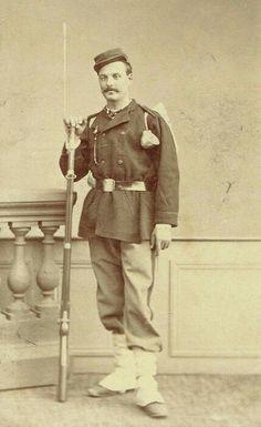 Gardes mobile à Toulouse 1870