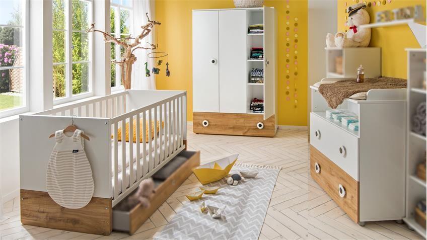 Rauch Schlafzimmer Set Burano Bestehend Aus Bett 2 Nachttischen Und Kleiderschrank Online Kaufen Otto In 2020 White Upholstered Bed Home Decor Home