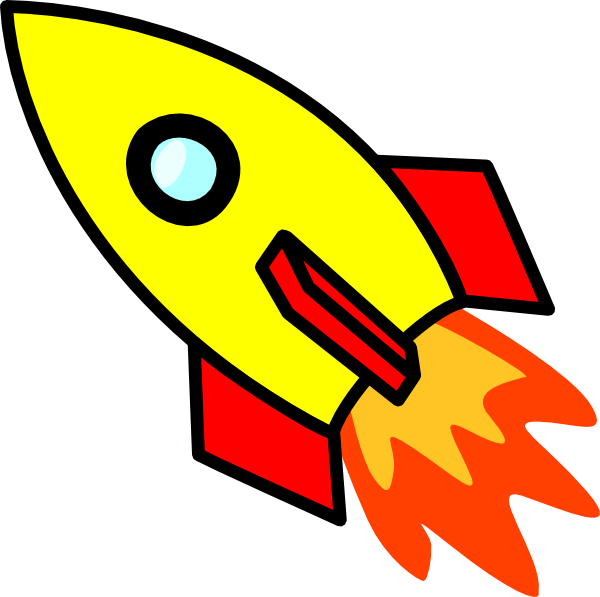 cartoon image of rocket clipart best rockets pinterest rh pinterest com spaceship clipart png spaceship clipart png