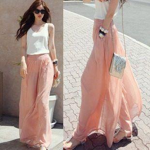 comprar popular 24de5 6d48a Meily City - Falda Pantalon Delgado Verano Corea -km694 - S ...
