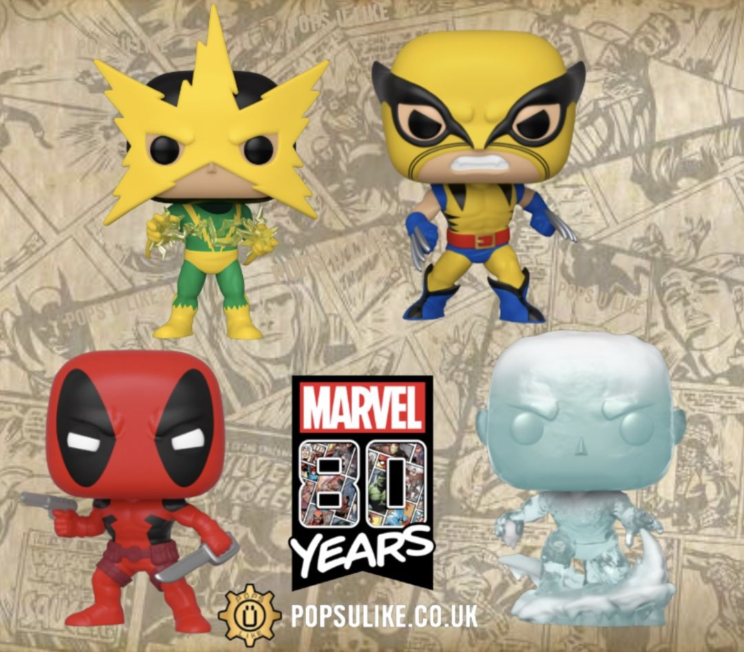 Marvel 80 Years First Appearance Funko Pop Vinyl Funko Pop Dolls Funko Pop Vinyl Pop Vinyl