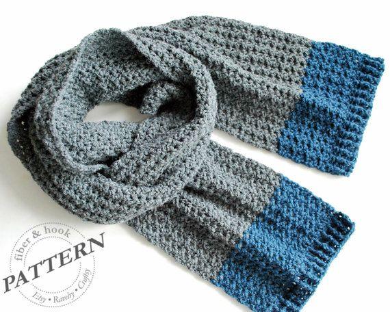 Crochet Pattern Isle Of Man Scarf Crochet Scarf Pattern Easy