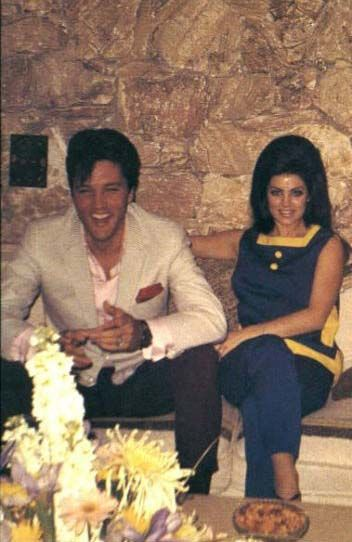 elvis and priscilla - eve of their wedding
