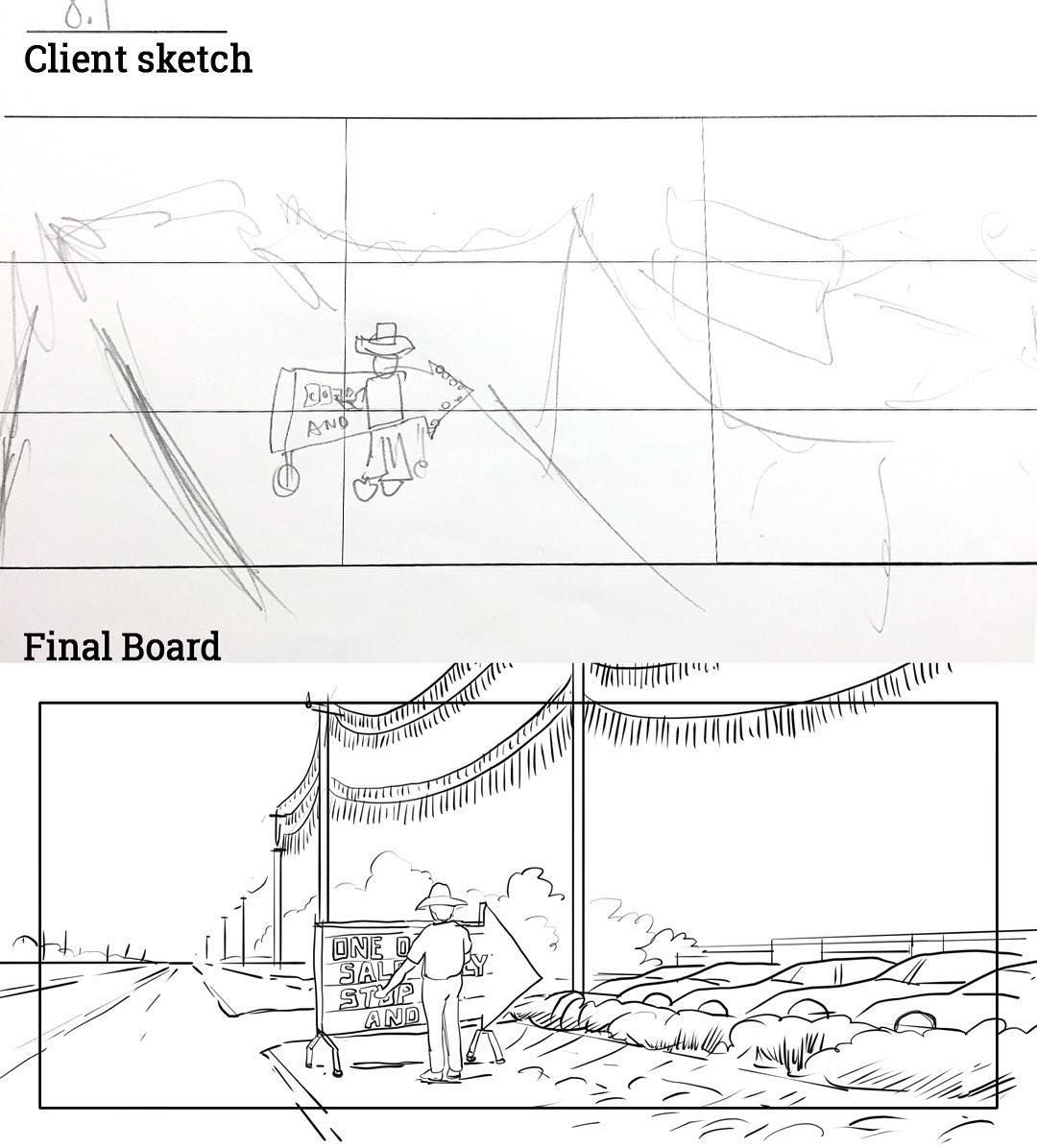 Storyboarding With The Rule Of Thirds  Storyboards By Storyboard