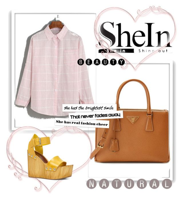"""""""Shein"""" by ian-677 ❤ liked on Polyvore featuring Prada, ALDO and Bomedo"""