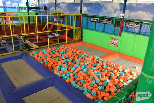 Get Excited About Fitness When You Visit The First Indoor Trampoline Park In Manila Jump Yard Indoor Trampoline Trampoline Park Trampoline