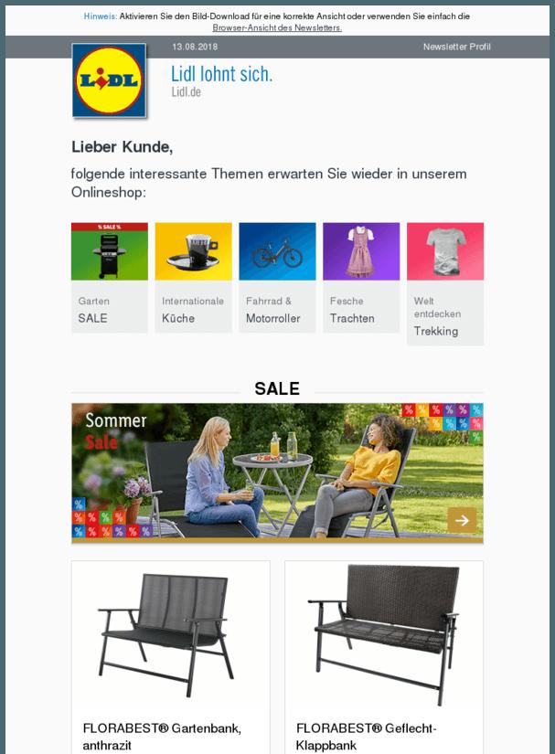Super Angebote Im Lidl Onlineshop Essentrinken Https Deal