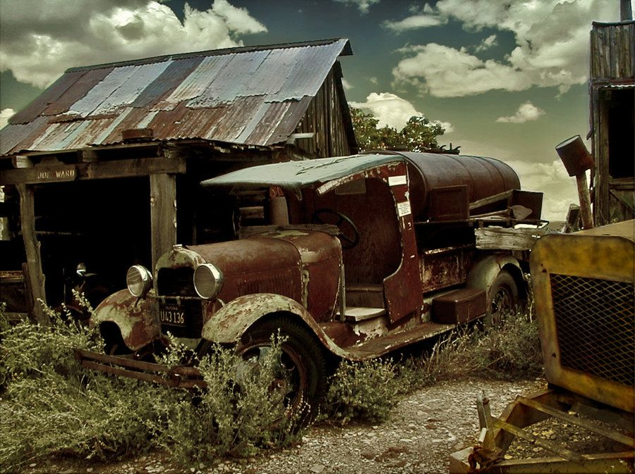 rusty old truck by ~Kyntio on deviantART | Rusty and old | Pinterest ...