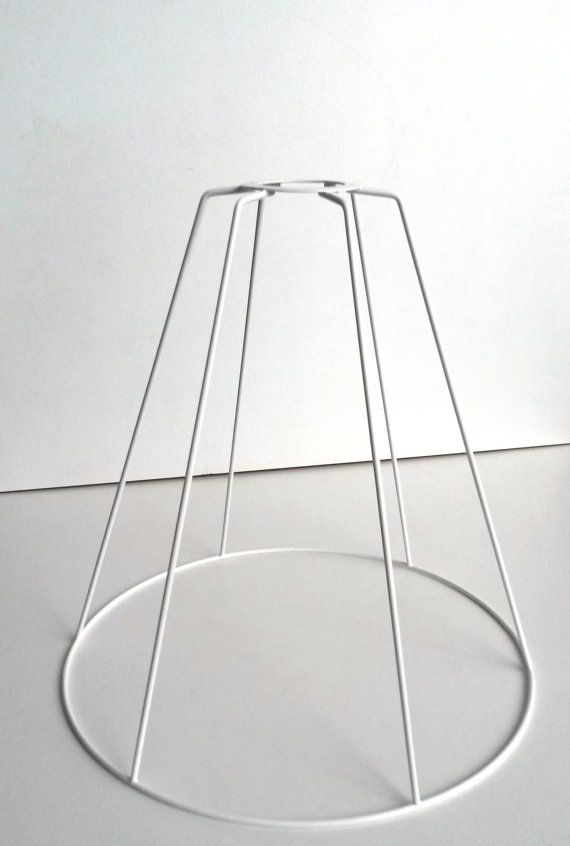 Authentic lampshade wire frame. by RVHills on Etsy | DIY lampshade ...