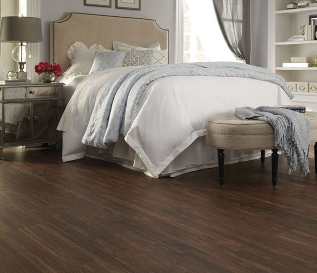 Dark Wood Vinyl Flooring Available At Express Flooring