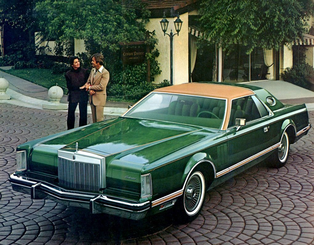 Lincoln Continental 1977 Land Yachts Lincoln