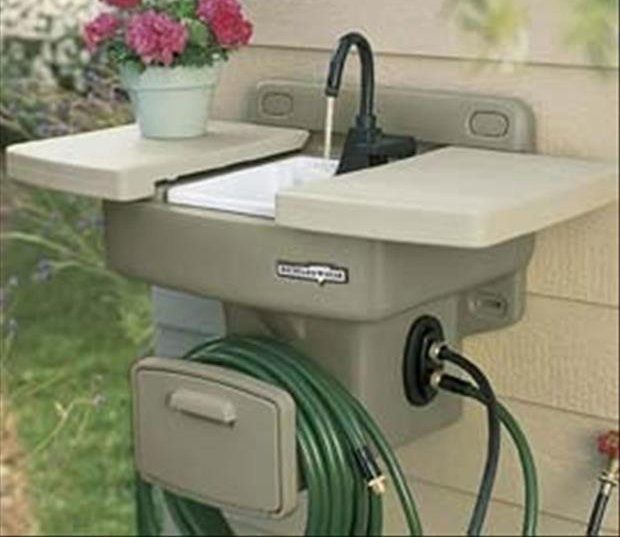 D.F. Omer WS100 Backyard Gear Water Station Plus | Outdoor ...